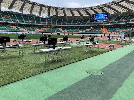 NTT西日本グループカップ 第53回静岡県U-12サッカー大会 eスポーツエキシビジョンマッチの写真2